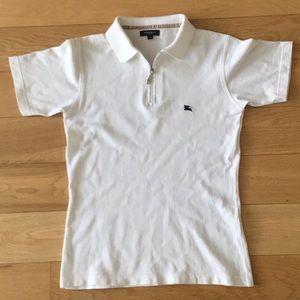 Burberry Classic White Polo Shirt
